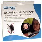 Espelho Retrovisor Para Bebê Redondo - Clingo