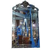 Espelho Veneziano Bisotado Decorativo Sala Quarto ALS 37 - Allstate