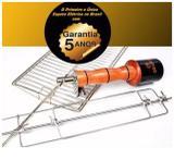 Espeto Giratório Girofest Super 5 Anos Garantia Em Inox 304 voltagem 220v