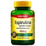 Espirulina Maxinutri 450mg com 60 cápsulas