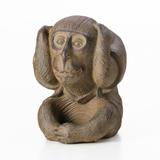 Estátua Macaco Não Escuto - Lyor classic