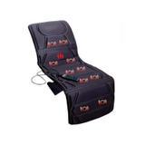 Esteira 10 Motores 5 Tipos De Massagem, Aquecimento, Relaxmedic - preto - Bivolt