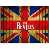 Esteira Bandeja Porta Copos Para Braço de Sofá Estampada  The Beatles Inglaterra - Móblis