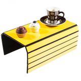 Esteira para Braço do Sofá Liso Isadora Design Amarelo