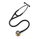 Estetoscópio Littmann Cardiology IV 6164 - Preto Cobre / Brass