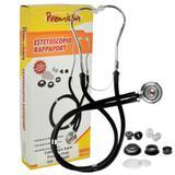Estetoscópio Rappaport Premium - Preto