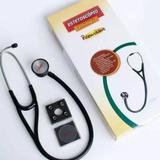 Estetoscópio Simples Premium - Preto - Saúdebig