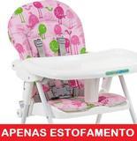 Estofado Forro Bon Appetit Passarinho Rosa - 3045 - Burigotto