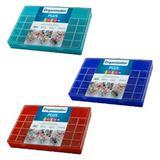 Estojo Organizador Plus com 34 Divisórias Colors - Ref. 708 - Paramount