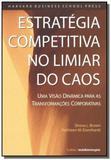 Estrategia competitiva no limiar do caos - Pensamento - cultrix