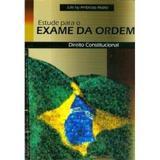 Estude Para O Exame De Ordem  Direito Constitucional - Universo editorial ltda-epp.