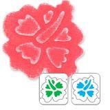 Faca de Corte Sizzix  Embosslits Die Flower Hibiscus 654824