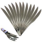 Faca de mesa aço inox k 901b kit 12 peças - Best plus