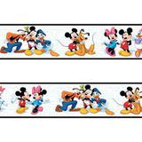 Faixa decorativa - Border Turma do Mickey - 760 - R+ adesivos