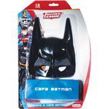 Fantasia Acessorio Batman Liga da Justica Capa+ma - Baby brink