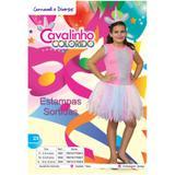 Fantasia Vestido Cavalinho Colorido M 5682 Sid-nyl