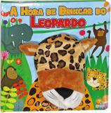 Fantoche da bicharada: a hora de brincar do leopardo