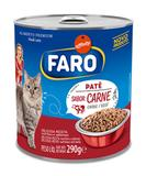 Faro Lata Patê Carne para Gatos 290g - Affinity