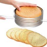 Fatiador de Bolos e Tortas - Regulável em Inox 24-30 cm - Wincy casa