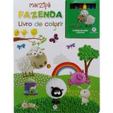 Fazenda: Livro de colorir - Col. Marzipã - Ciranda cultural