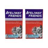 Feliway Friends Gatos Refil de 48ml Kit 2 unidades Ceva