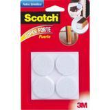 Feltro Sintético Redondo Branco Gg 3m Scotch