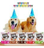 Festa Pet Para Cães Kit Festa 12 Unidades Petiscos Variados - Petitos