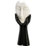 Figurino de Máscara Black and White - Prestige