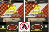 Filtro Exaustor Depurador De 4 A 6 Bocas 02 Unidades - branco - Oriplast