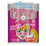 Fio dental com haste penelope charmosa - Powerdent