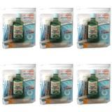 Fiodent Dentlimp Kit Viagem (Escova + Fio + Enxaguante +Gel)  (Kit C/06)