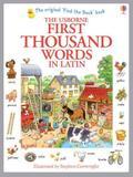First Thousand Words in Latin - Usborne - uk