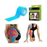 Fita kinesio bandagem elastica adesiva funcional tape fisioterapia esportes atadura flexivel com 5 m - Gimp