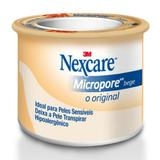 Fita Micropore Nexcare Bege 25mm x 4,5m - 3m do brasil