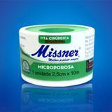 Fita Microporosa Hipoalérgica Cirúrgica 2,5x10m Micropore Missner Branca - kit com 12 unidades