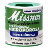 Fita Microporosa Missner 5cm x 10m