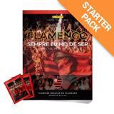 Flamengo Histórico - Kit Álbum Capa Cartão + 20 envelopes - Panini