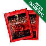 Flamengo Histórico - Kit com 12 envelopes - 60 cromos - Panini