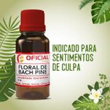 Floral de Bach Pine 30ml - Oficialfarma