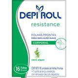 Folhas Prontas Corporal Depi Roll Algas - Depi-roll