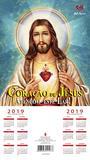 Folhinha do Sagrado Coração de Jesus 2019