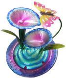 Fonte De Agua Cascata Decorativa em Metal Borboleta para Decoracao para Jardim e casa (FT-S) - Braslu
