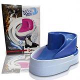 Fonte e bebedouro Purificador de água para cães e gatos Azul - Raia pet