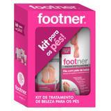 Footner Kit para os Pés - Meias Esfoliantes + Creme Reparador