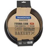 Forma De Bolo 24Cm Bakery Cinza 27814013 Tramontina