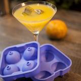 Forma de gelo em silicone esfera ideal para drinks prana