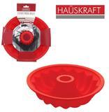 Forma de silicone para bolo / torta / pudim com tubo vermelho hauskraft 6,5x25,5cm de ø - Western