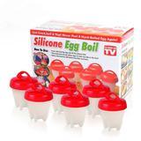 Forma De Silicone Para Cozinhar Ovos Egg Boil - China