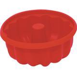 Forma de Silicone para Pudim 25cm - Vermelha - Carisma