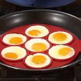 Forma em Silicone Para Modelar Panquecas, Ovos - Uny home
